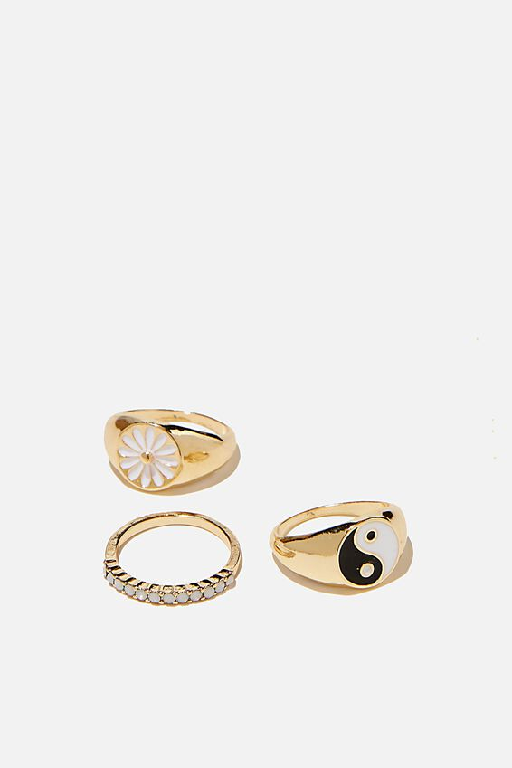 Brighter Days Ring Set, 90 S GOLD