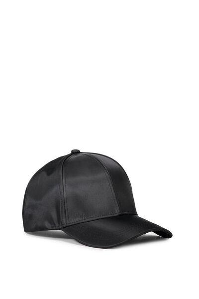 Nancy Cap, BLACK NYLON