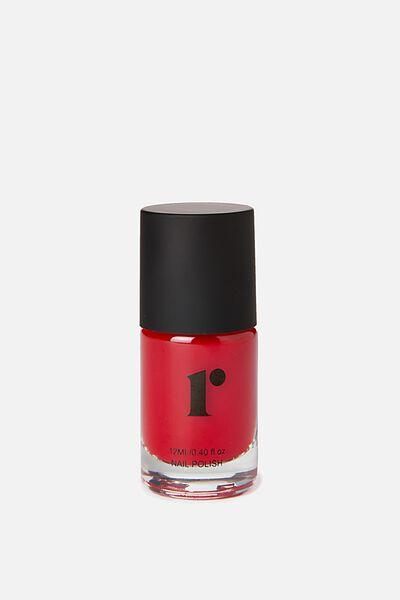 Nail Polish, RED