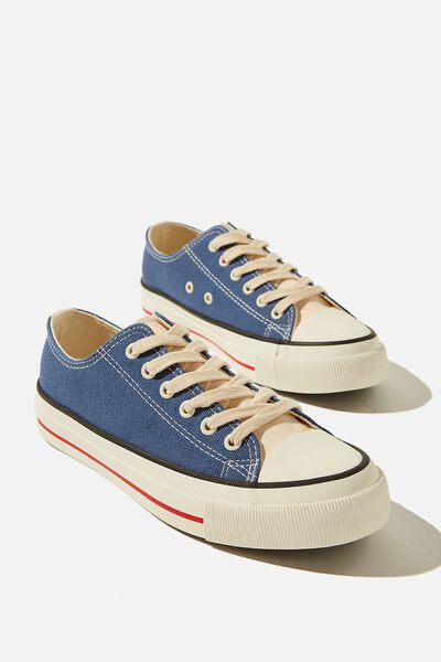 Billie Retro Low Rise, BLUE COLOUR BLOCK