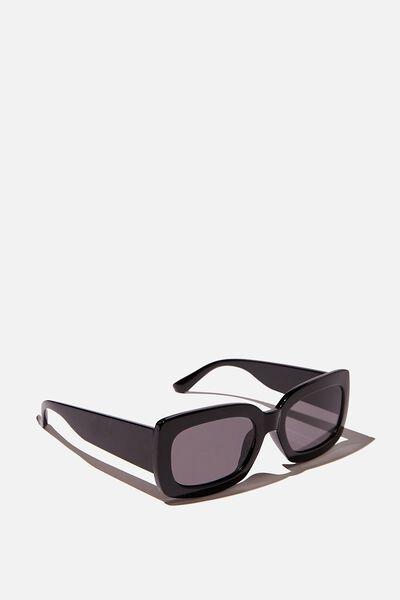 Ally Sunglasses, BLACK