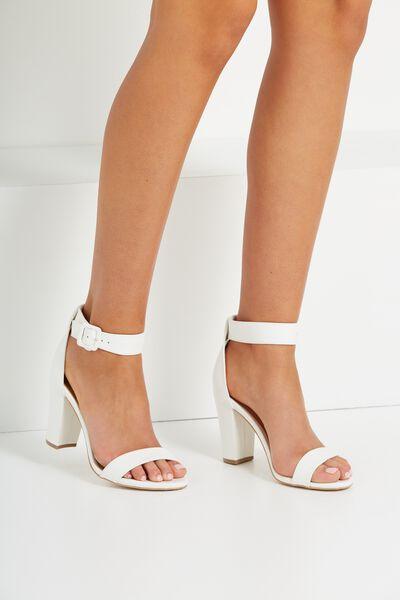 San Sebastian Heel, WHITE