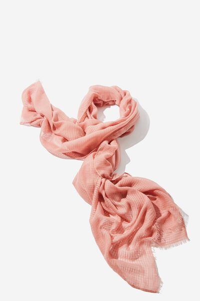 Lily Light Weight Scarf, ROSE TAN