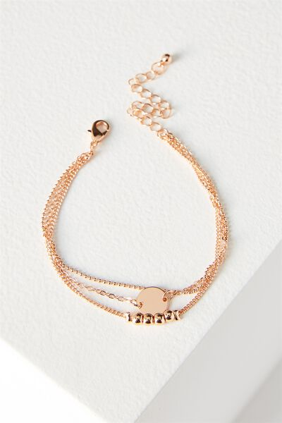 Juliet Bracelet Set, ROSE GOLD
