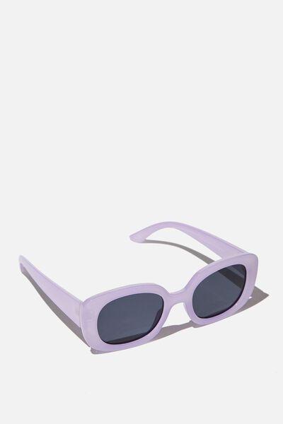 Jade Square Sunglasses, SOFT ORCHID