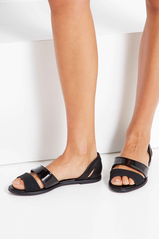 Buy Rubi Luna Peep Toe Flats Online on United States AE 4SH72A6CD4GS