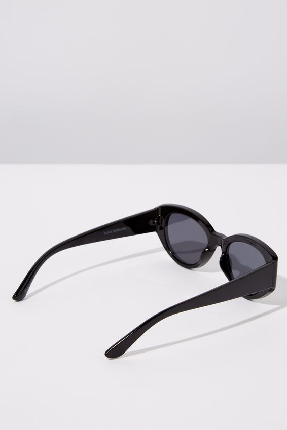 Olivia Sunglasses, BLACK