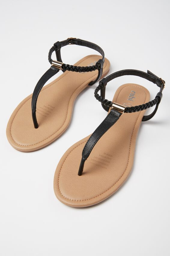 Everyday Braided Toe Post Sandal by Cotton On