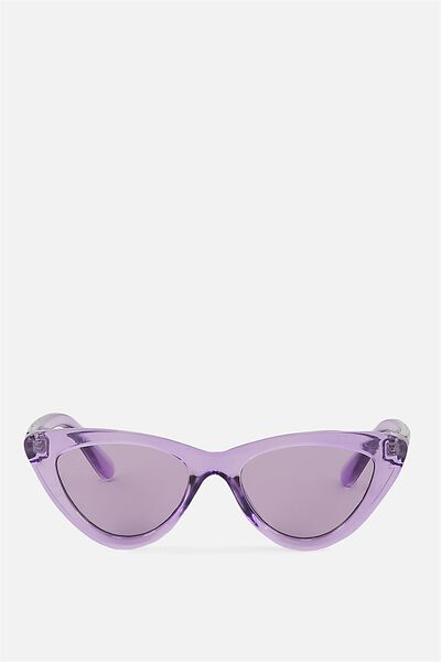 Narrah Short Frame Cateye, CRYSTAL LILAC