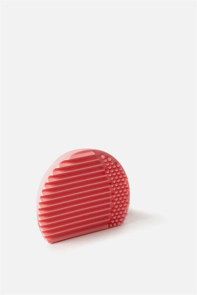 Brush Cleaner - Oval, PARFAIT PINK