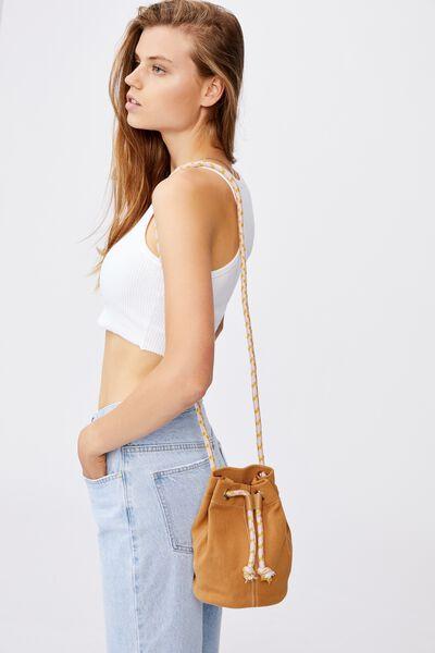 Day Tripper Bucket Bag, RETRO YELLOW