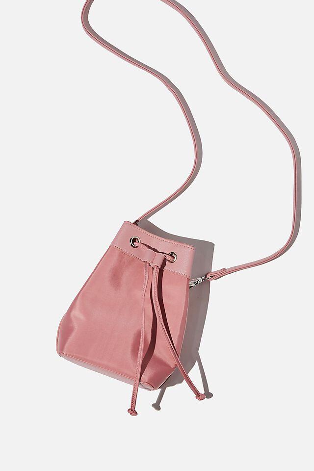 Mini Bucket Bag, PETAL PINK