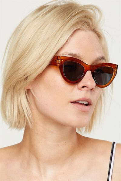 Jade Full Frame Sunglasses, MILKY CADIUM