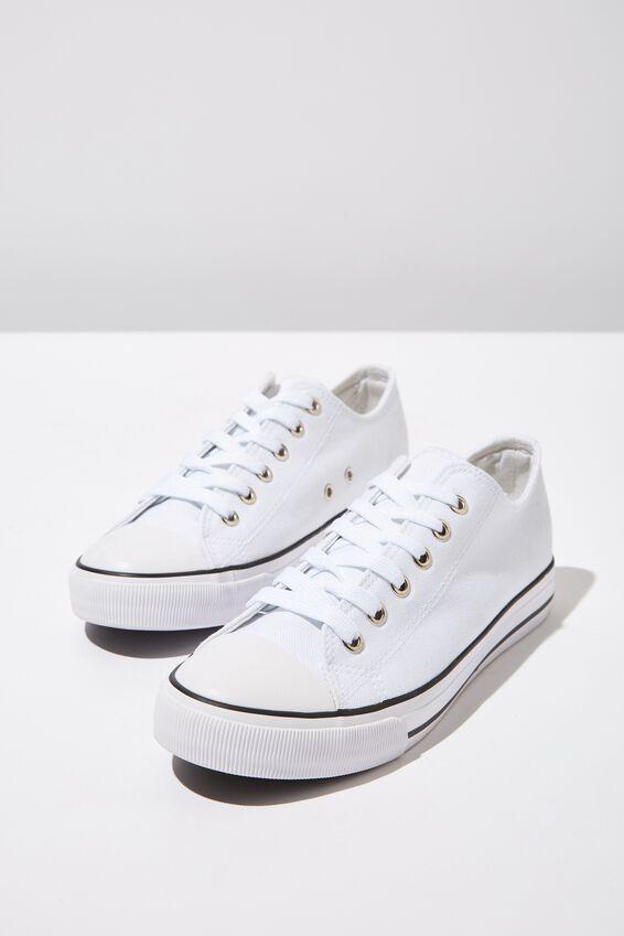 Jodi Low Rise Sneaker 1, BRIGHT WHITE