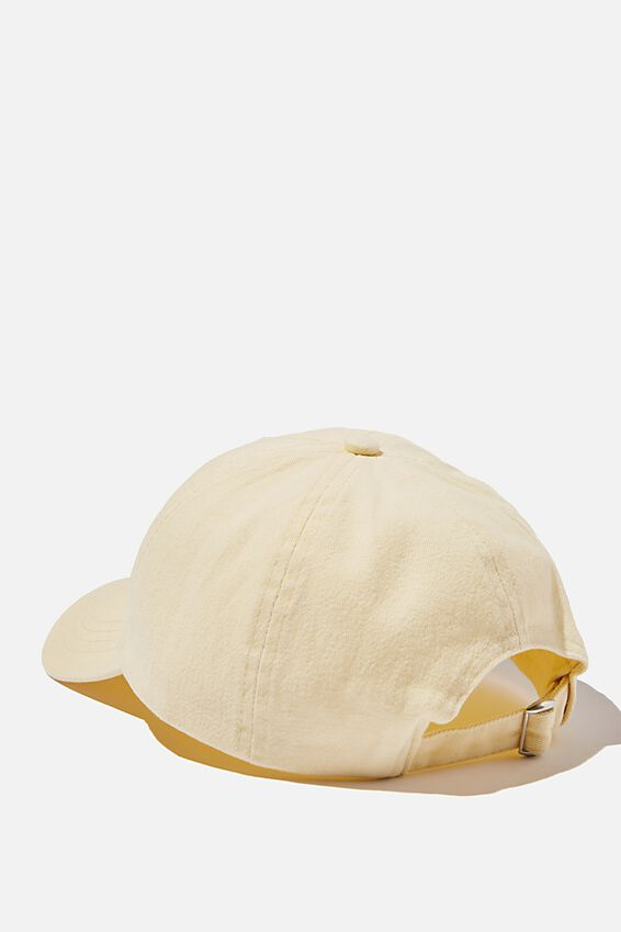 Kaia Cap, LEMON/BUTTERFLY