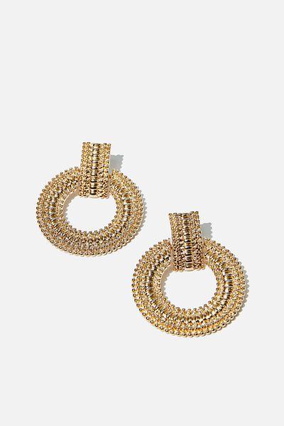 Azadi Ancient Earring, GOLD
