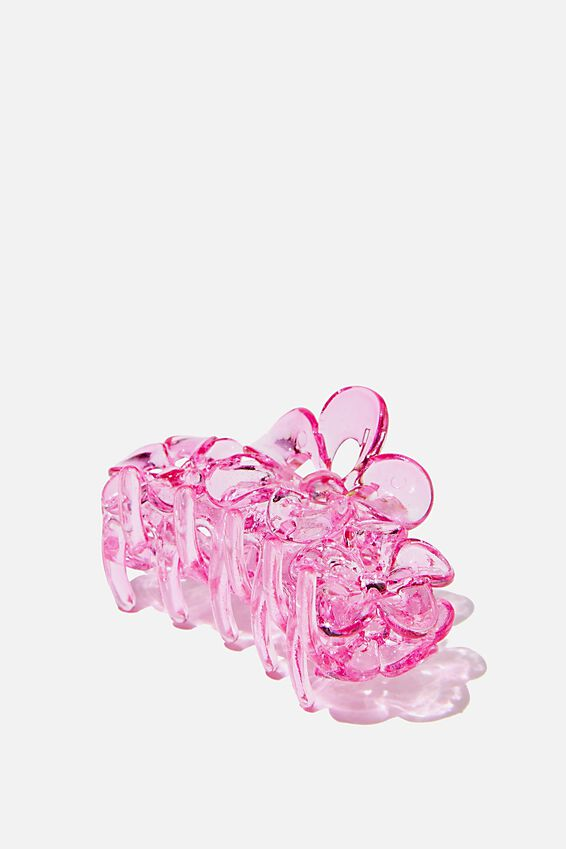 Phoebe Hair Claw, BRIGHT PINK