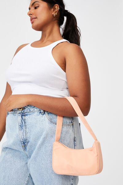 Nadia Underarm Bag, SUMMER TANGERINE