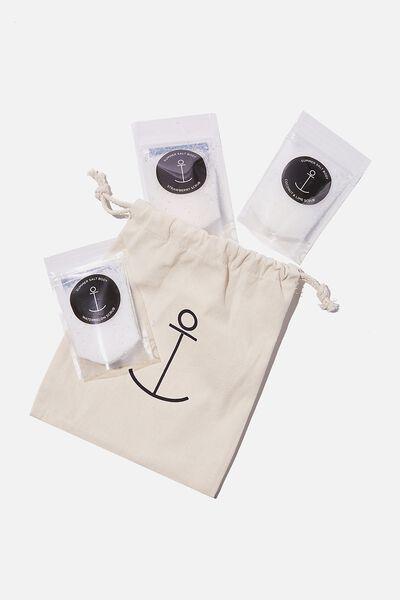 Summer Salt Body Pack, TRIPLE SCRUB PACK