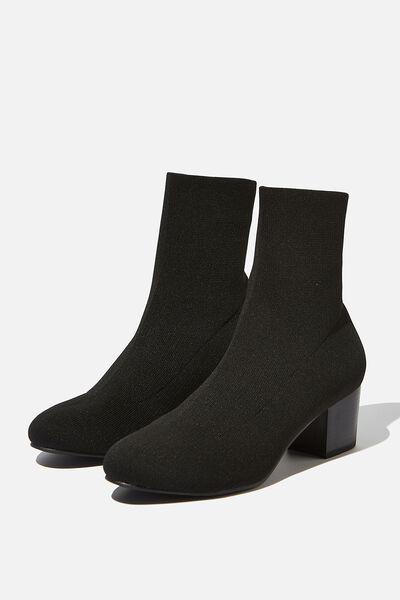 Thrills Sock Boot, BLACK