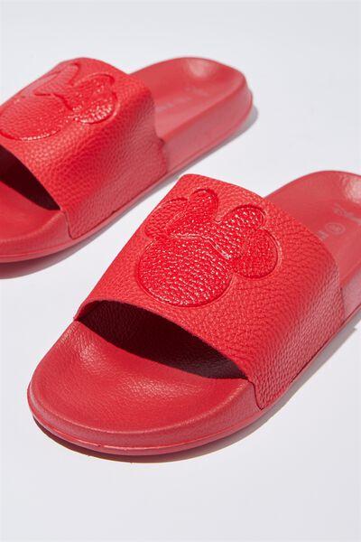 Wild Slide, RED MICKEY EMBOSSED