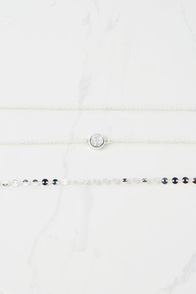 Lyon Bracelet, SILVER
