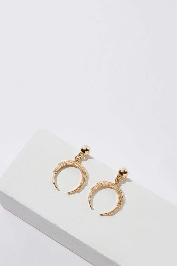 Yosemite Earring, GOLD