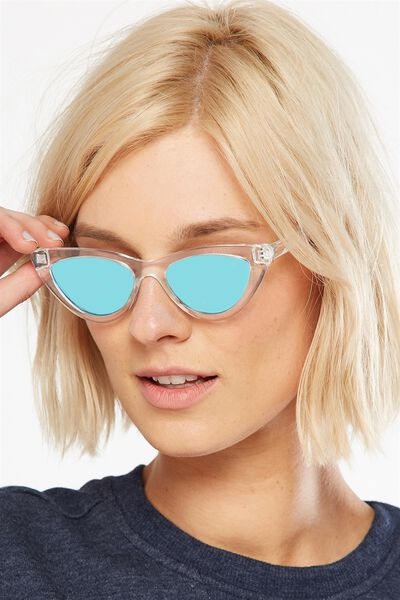 Narrah Short Frame Cateye, S.CRY CLEAR/ARTIC ICE