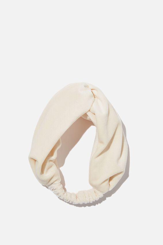 Surrey Soft Headband, ECRU