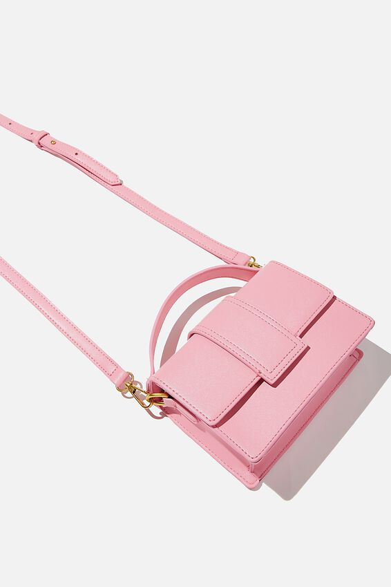 Cindy Cross Body Bag, RASPBERRY SODA
