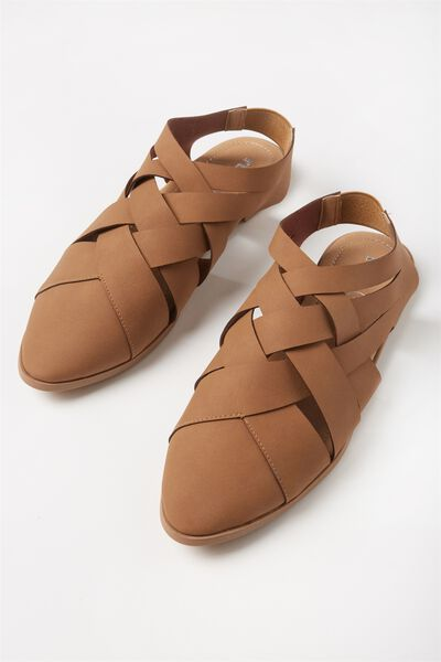 Layla Woven Point, TAN
