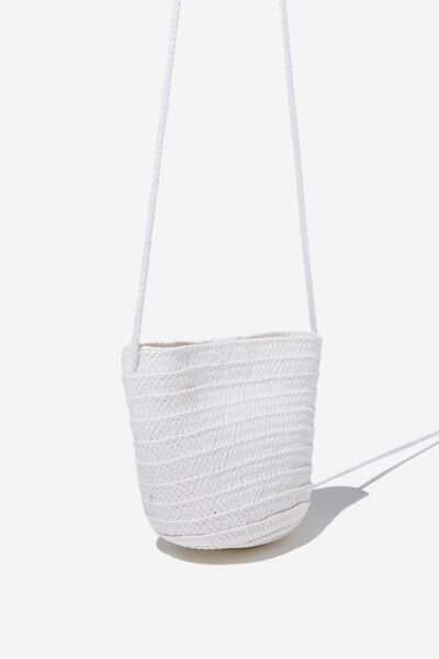 Summer Mini Bag, WHITE