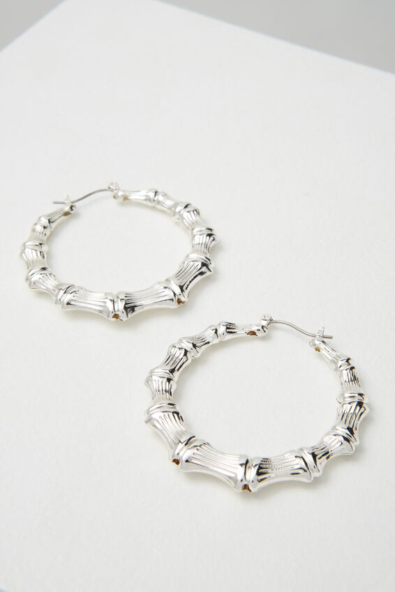 Molten Hoop Earring at Cotton On in Brisbane, QLD | Tuggl