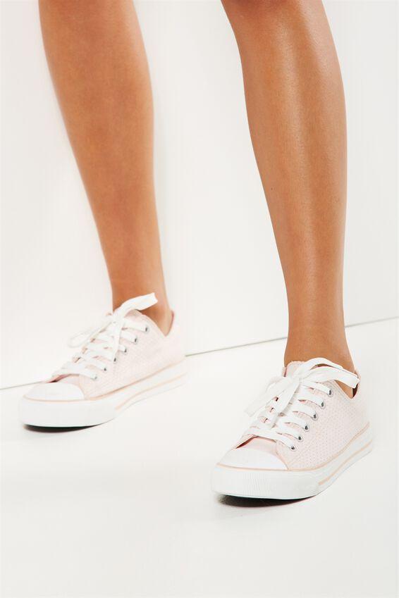 Jodi Low Rise Sneaker 1, ICE PINK MICRO