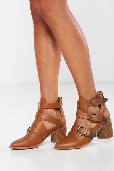 Roxanne Buckle Boot, SPICE