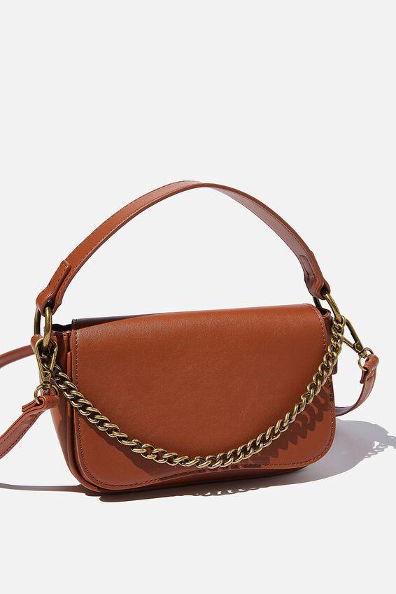 Naomi Cross Body Bag, TAN