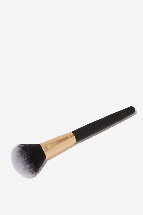 Powder Brush, BLACK/GOLD