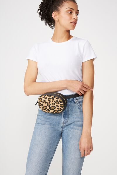 Brodie Belt Bag, LEOPARD MICRO