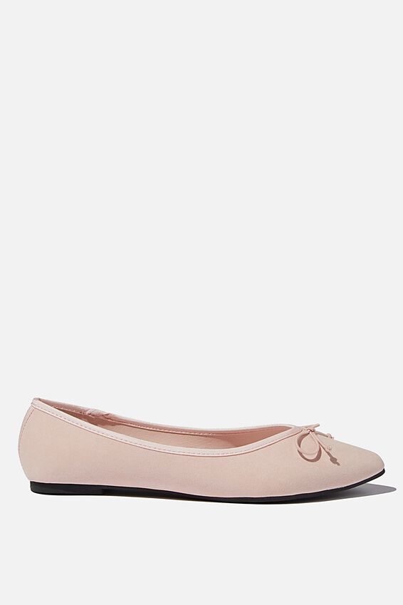 Essential Evelyn Point Ballet, DUSTY PINK MICRO
