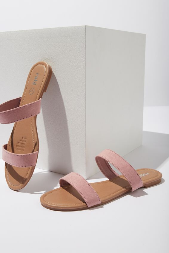 Everyday Double Thin Strap Slide, ROSE DAWN MICRO