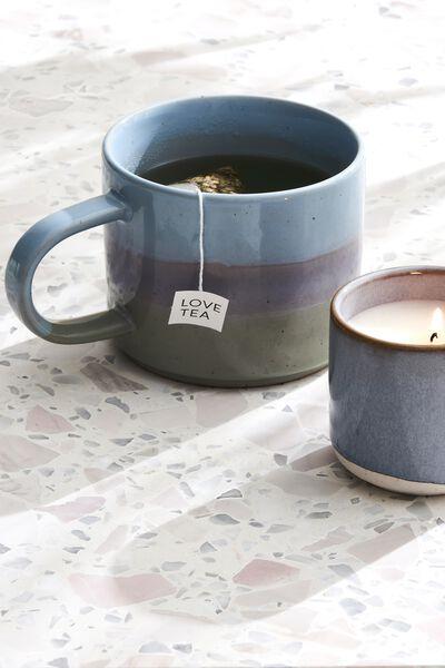 Sunday Mug, LIGHT BLUE GLAZE