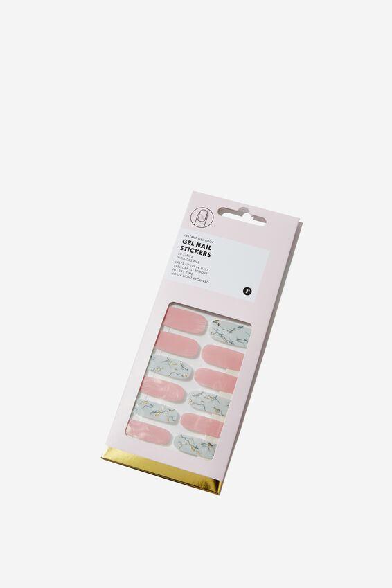 Gel Sticker Nails, MARBLE