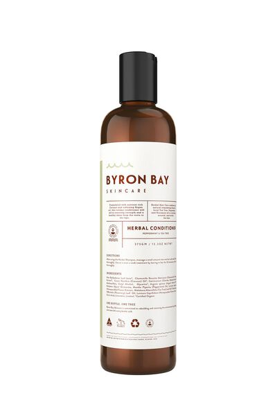 Byron Bay Skincare Herbal Conditioner, PEPPERMINT & TEA TREE