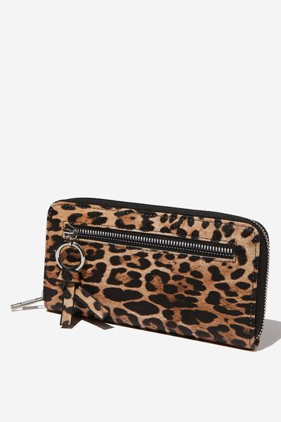 Keep The Change Wallet, LEOPARD