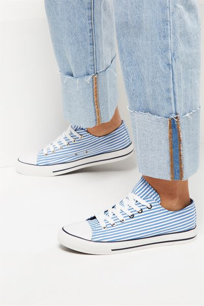 Jodi Low Rise Sneaker 1, SHIRT STRIPE