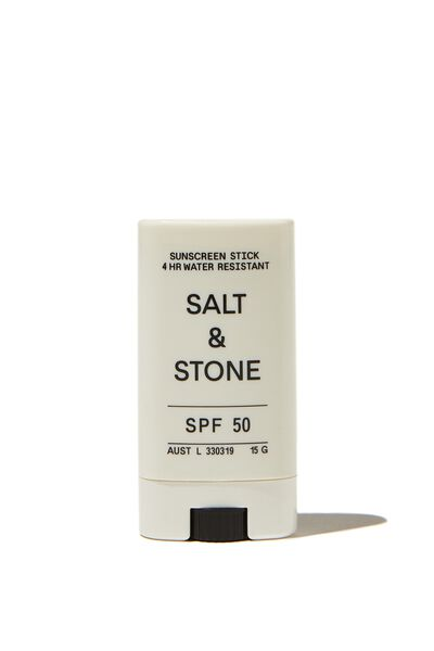 Salt & Stone Spf 50 Sunscreen Face Stick, UNTINTED