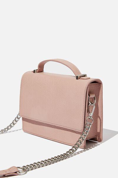 Aria Chain Strap Cross Body Bag, BLUSH