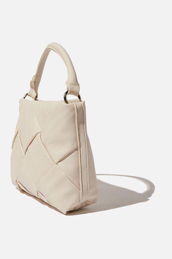 Heidi Quilted Bag, ECRU