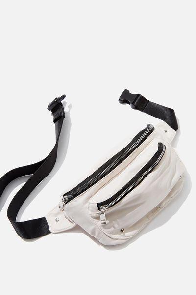 Brazen Belt Bag, STONE GREY