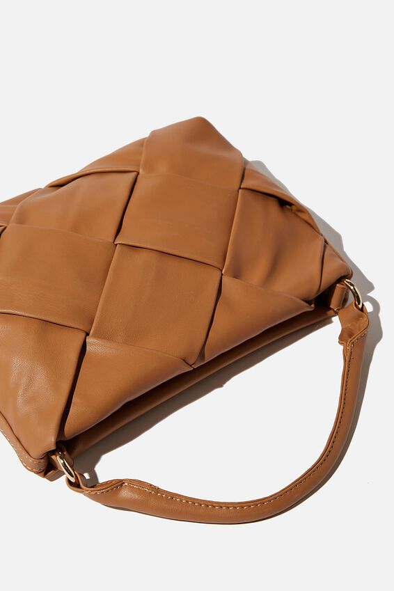 Heidi Quilted Bag, TAN